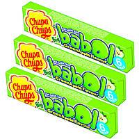 Жевательная резинка Chupa Chups Big babol Green Apple, 6 шт.