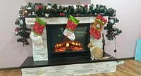 Гирлянда из искусственной хвои для новогоднего декору дома офиса и улицы 250 см от производителя разного типа