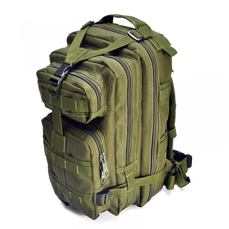 Тактический (городской) рюкзак Oxford 600D с системой M.O.L.L.E olive (ta25)