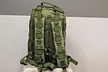 Тактический (городской) рюкзак Oxford 600D с системой M.O.L.L.E olive (ta25), фото 4