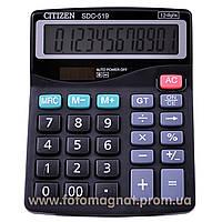 Калькулятор настольный бухгалтерский  CITIZEN CITIZEN 519