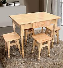 Кухонный набор стол и табуреты (Микс мебель)