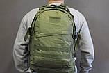 Тактический (военный) рюкзак Raid с системой M.O.L.L.E Olive (601 олива), фото 7