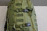 Тактический (военный) рюкзак Raid с системой M.O.L.L.E Olive (601 олива), фото 9