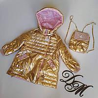 Куртка демисезонная для девочки «Аня», фото 1