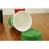 Чашка керамическая кружка Starbucks Green 008, фото 2