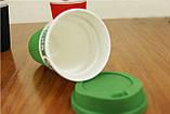 Чашка керамическая кружка Starbucks Green 008, фото 4