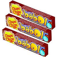 Жевательная резинка Chupa Chups Big babol Cola-Lemon, 6 шт.