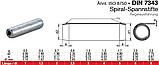 DIN 7343 (ISO 8750) : нержавеющий штифт цилиндрический спиральный, фото 2