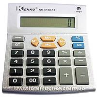 Калькулятор настольный бухгалтерский Kenko 6160/6180