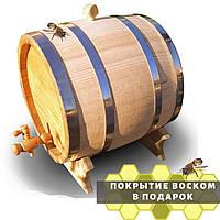Дубовая Бочка Деревянная 30 литров для Вина Коньяка Виски Алкоголя
