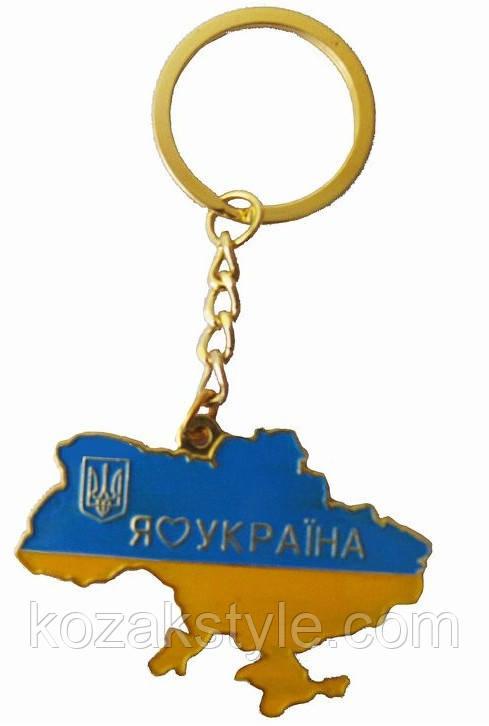 """Брелок """"Мапа України"""""""