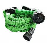 Садовый шланг для полива XHOSE 60м с распылителем, фото 2