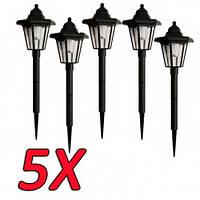 5шт садовый светильник на солнечной батареи PL-239