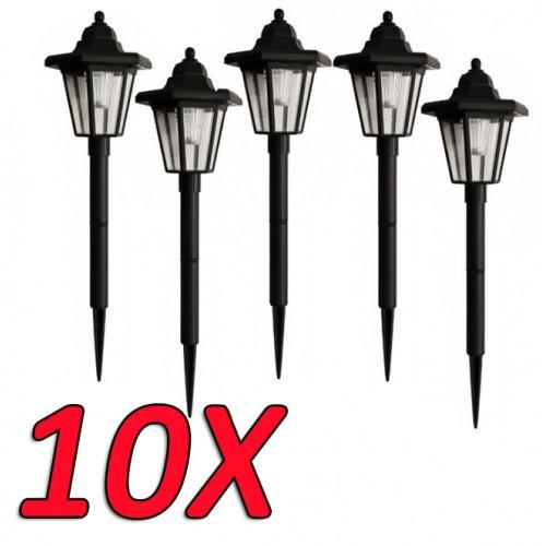 10х садовый светильник на солнечной батареи PL-239