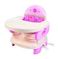 Детский столик для кормления, розовый Summer Infant Deluxe Comfort Folding Booster Seat, Pink