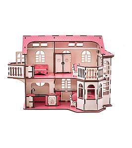 Ляльковий будинок 57х27х35 з підсвічуванням (gp_ У 014)