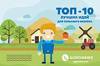 ТОП - 10 самых популярных идей для сельского бизнеса