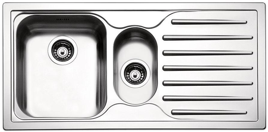 Кухонные мойки Apell Кухонная мойка из нержавеющей стали Apell Torino TO1002IRBC, полированная