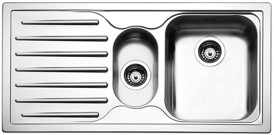 Кухонные мойки Apell Кухонная мойка из нержавеющей стали Apell Torino TO1002ILBC, полированная