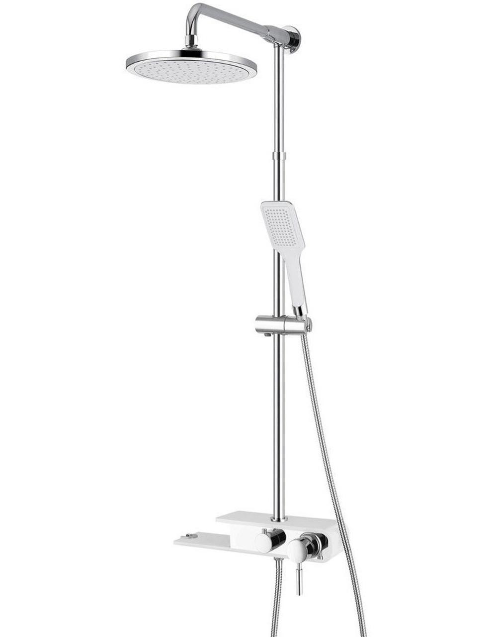 Душевые системы Q-tap Душевая система Q-TAP SHOWER PANEL QT WHI- 1110