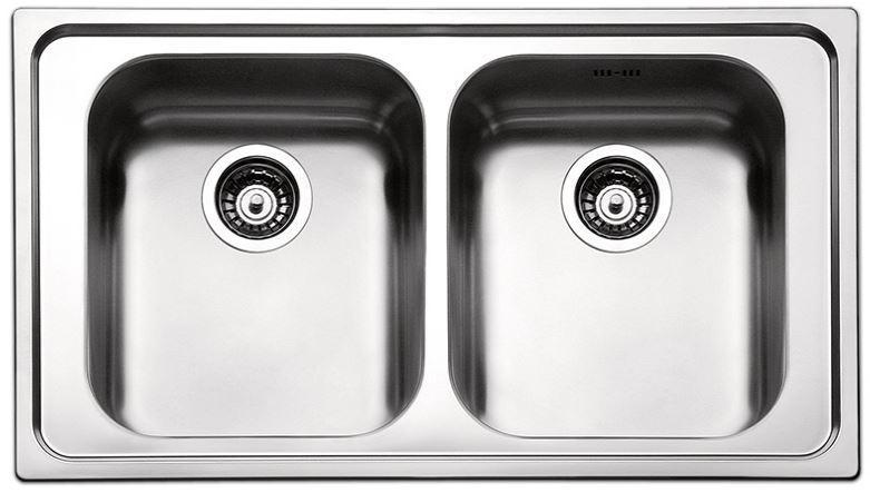 Кухонные мойки Apell Кухонная мойка из нержавеющей стали Apell Torino TO862IBC, полированная