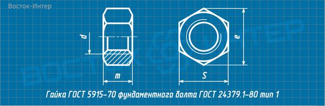 Болт Фундаментный Изогнутый Гост 24379.1-80 Чертежи