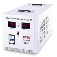 Стабилизатор напряжения сервоприводного типа IDR-8kVA Kebo, однофазный стабилизатор