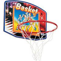 Щит баскетбольный детский с кольцом и сеткой для баскетбола World Sport 61 х 46 см Красный (SC-88337)
