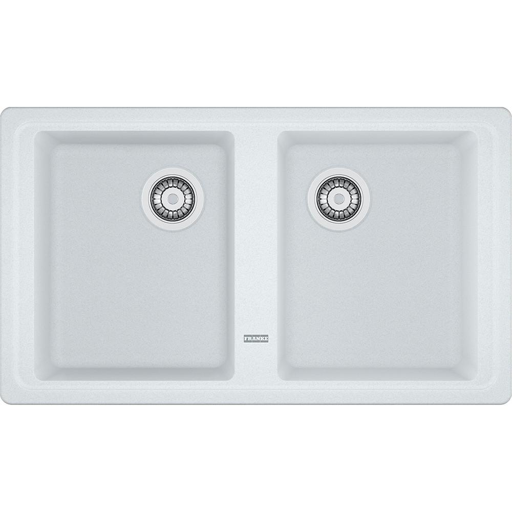 Гранітна мийка Franke Basis BFG 620 фраграніт білий 8650