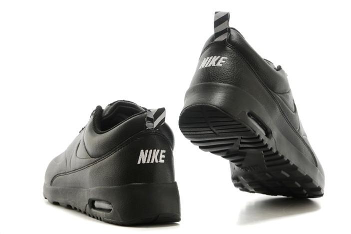 fd6adf07 Кроссовки Nike Air Max Thea All Black Leather купить в Киеве | Im ...