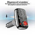 Bluetooth/AUX/SD/USB 2xUSB 3.4 A FM-трансмиттер Promate SmarTune-3 Black, фото 3