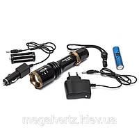 Тактический фонарик Police BL-1830 T6 3000W, фото 1