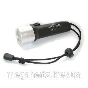 Подводный фонарь для дайвинга фонарик Black