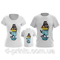 """Сімейні футболки """"Сім'я Єнотиков"""""""