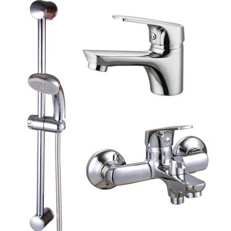 Наборы смесителей для ванны Q-tap Набор смесителей для ванны Q-Tap Set CRM 35-111