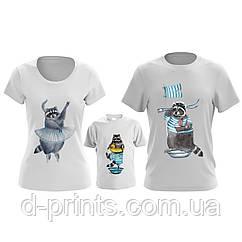 """Сімейні футболки """"Сім'я Єнотиков 2"""""""