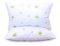 Подушка лебяжий пух Aloe vera 70х70, фото 1