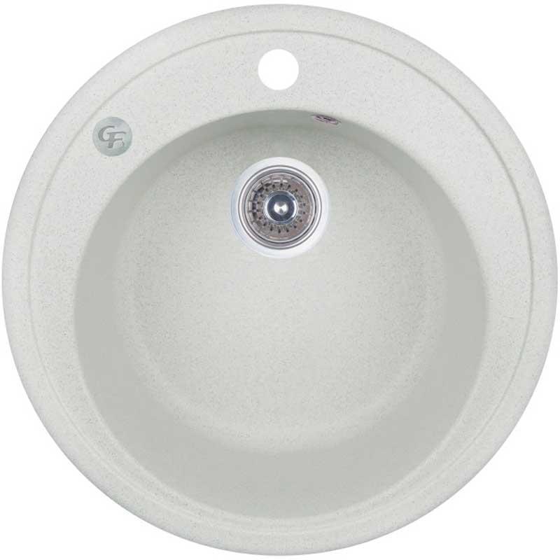 Кухонные мойки GF Кухонная мойка GF (STO-10) D510/200 GFSTO10D510200 светло-серая