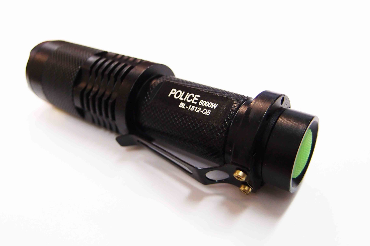 Фонарь аккумуляторный Police 1812-8000W-Q5, ак.18650
