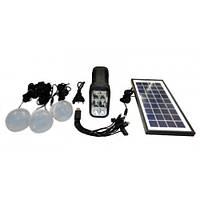 Аккумулятор фонарь от солнечной батареи GD-8017А, фото 1