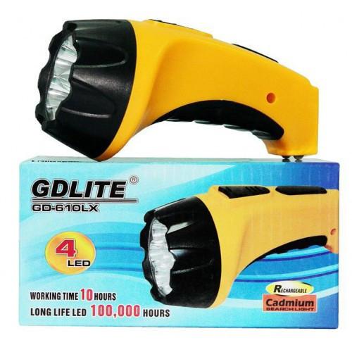 Аккумуляторный фонарик от сети GD-LIGHT GD-610LX
