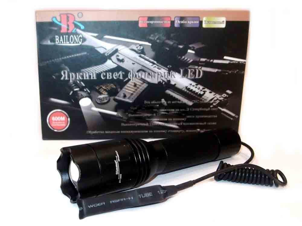 Под ствольный Фонарь Police  BL-Q8639 XPE 8000w фонарь под ружье