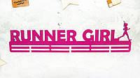 """Медальница из металла """"RUNNER GIRL"""""""