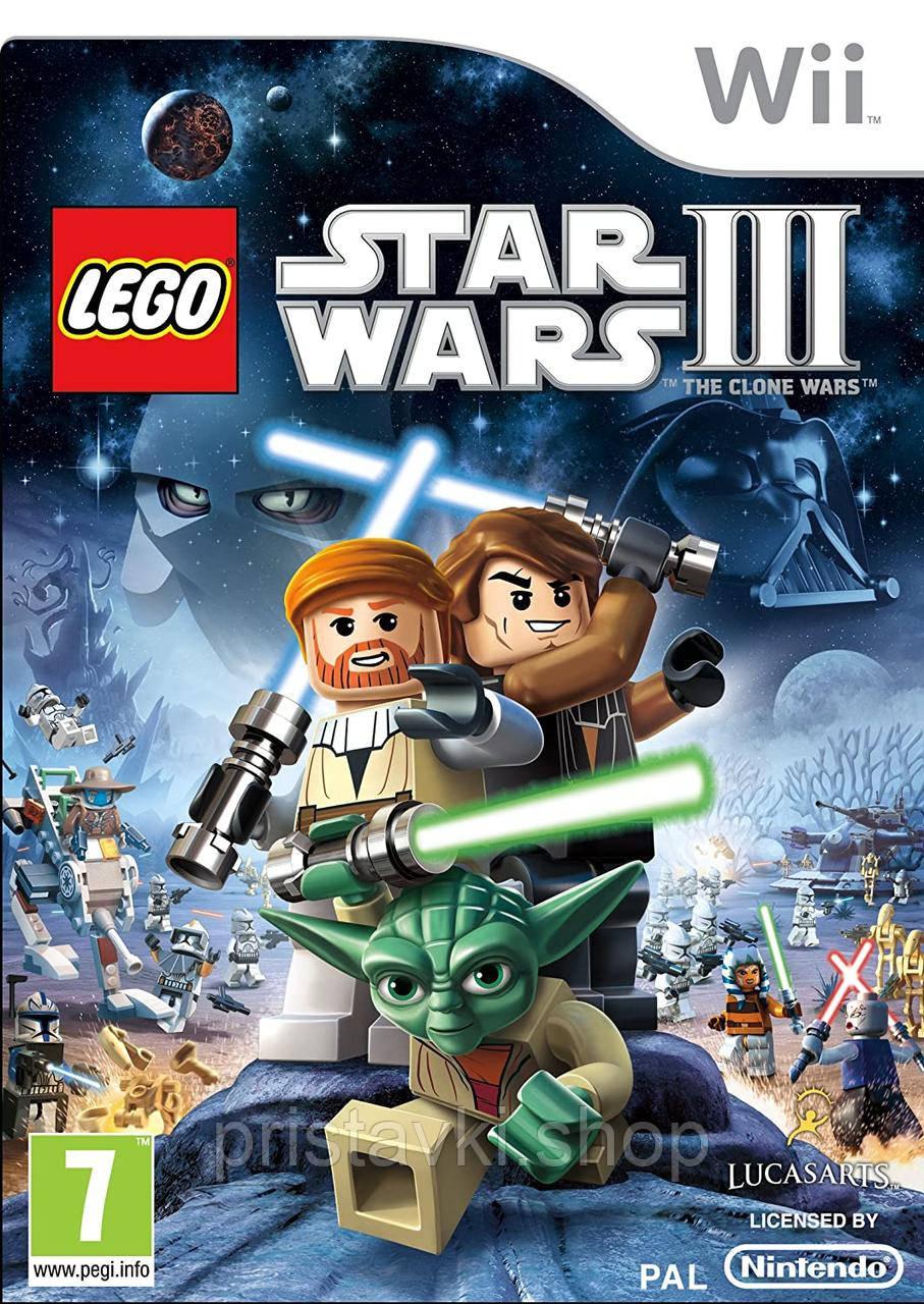 Lego Star Wars III: The Clone Wars Nintendo Wii