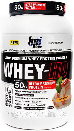 BPI sports Протеин сывороточный Whey HD (1,85 kg )