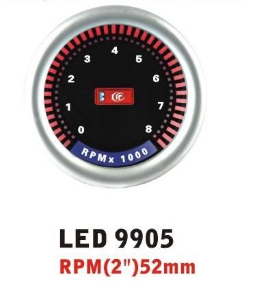 Дополнительный прибор Ket Gauge LED 9905 тахометр