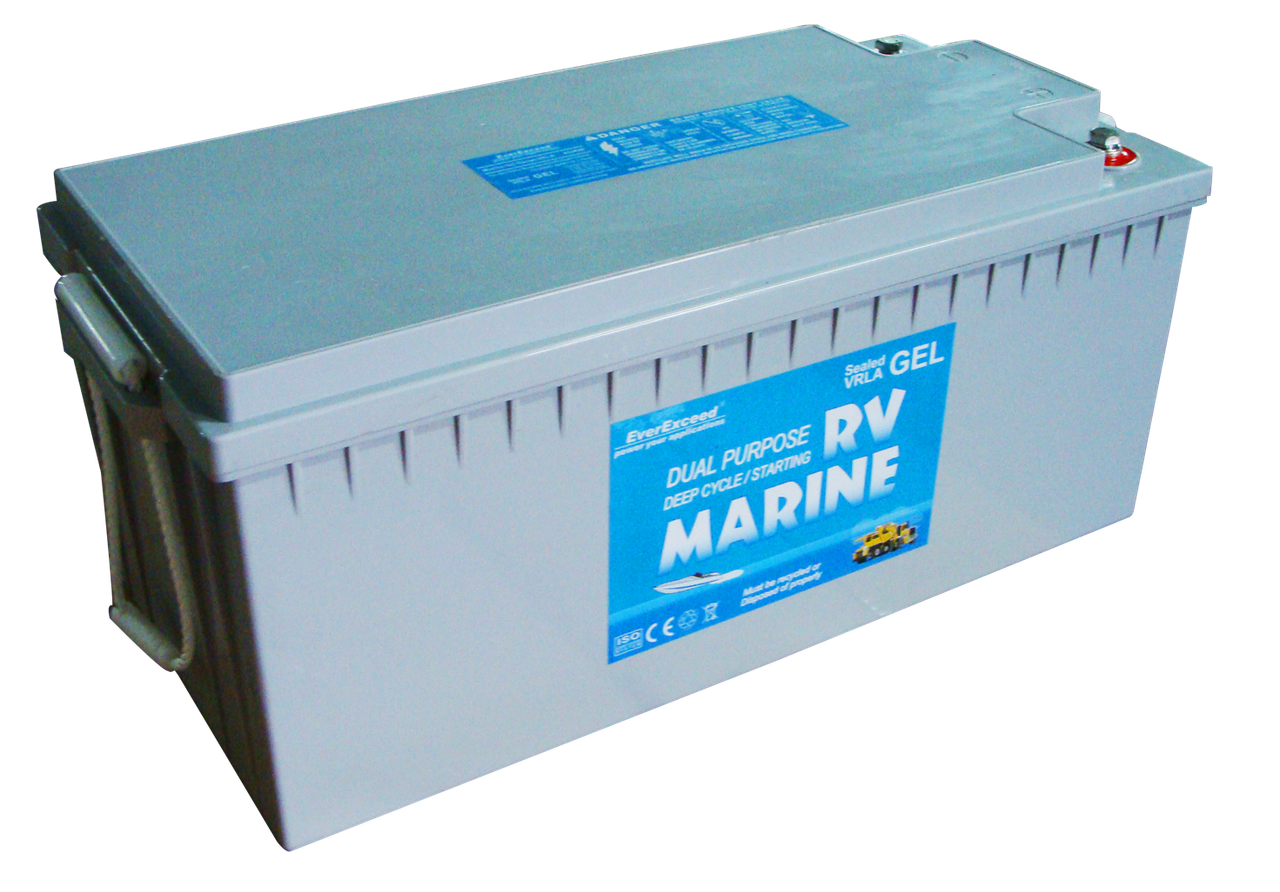 Гелевий акумулятор EverExceed Marine Gel 8G8DM