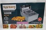 Фритюрница Rainberg RB 7152 электрическая профессиональная 3200Вт 8л, фото 4