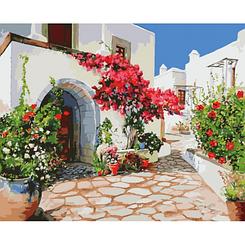 Райское место - Картины по номерам   Идейка 40х50 см.   КН2218